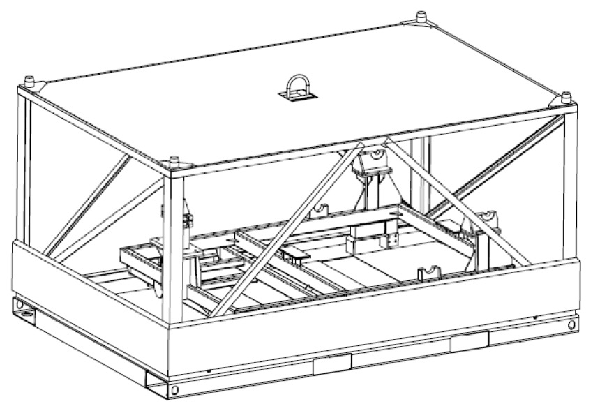 Module Container LPT, CFM56 7B